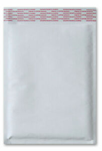 5 X 10 00 White Kraft Bubble Mailer Padded Shipping Bags 250 Pieces case