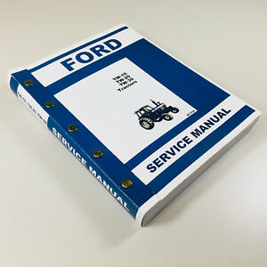 Ford Tw10 Tw20 Tw30 Tractor Factory Service Repair Shop Manual Overhaul