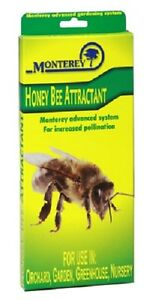 6 Ea Monterey Lg8610 3 Pack Honey Bee Lure Attractant Pollination Aid