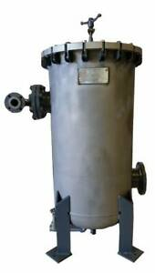 Remanufactured Amf cuno Cartridge Filter 6 304ss Model 55sl3 150 Flanges