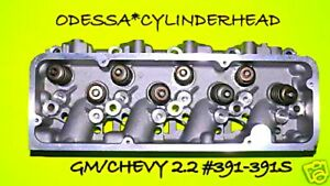 New Fits Gm Chevy Cavalier S10 2 2 Ohv 391 391s Cylinder Head