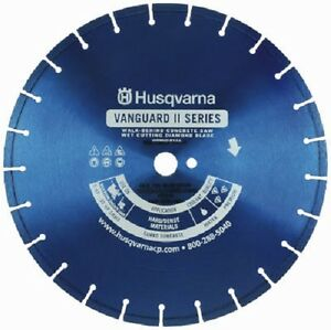 Husqvarna 542751670 Flx230 14 X 125 X 1 Diamond Concrete Wet Saw Blade