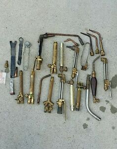 Lot Of Oxy acetylene Torches Misc Parts