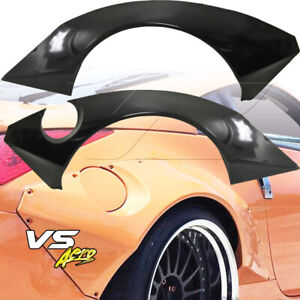 Frp Tkyo Bunny Wide Body 80mm Fender Flares rear 2pc Fits Nissan 350z Z33