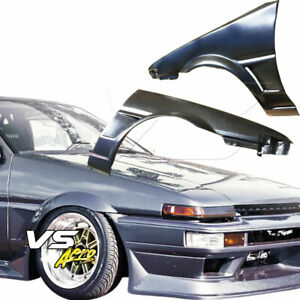 Frp Ori Wide Body 20mm Fenders front 2 3dr Fits Toyota Corolla Ae86 84 87