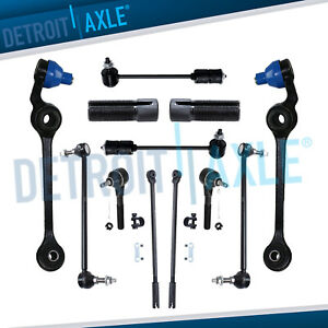 New 12pc Front And Rear Suspension Kit For Chrysler 300m Concorde Dodge Intrepid