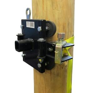Portable Winch Tree Pole Mount W Anchor Strap Pca 1263
