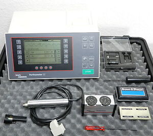 S2 Perthometer Mahr Federal Surface Roughness Tester Pzk Probe Brown
