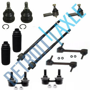 Brand New 12 Pc Front And Rear Suspension Kit For Hyundai Elantra 2001 2006