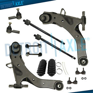 New 12 pc Front And Rear Suspension Kit For Hyundai Elantra 2001 2006