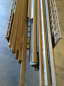 304 Stainless Steel Lot Of Assorted Stock Flat Bar Square Tube Angle 600 Lbs
