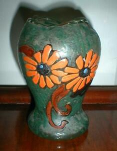 Antique Legras Art Nouveau Signed Vase