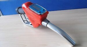 Fuel Gasoline Diesel Petrol Oil Delivery Gun Nozzle Dispenser With Flow Mete 162