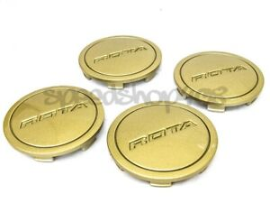 Rota Wheels Center Caps Gloss Gold Z Cap 4pcs Replacement G Force Torque Grid