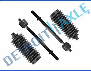 4pc Front Inner Tie Rod Ends Boot Set For 1995 2004 Toyota Tacoma 2wd