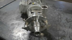 Fristan Fpx712 110 Stainless 4 5 Impeller Sanitary Pump New Surplus