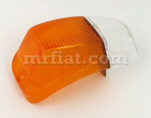 Volvo Amazon Clear Amber Front Right Turn Light Lens New
