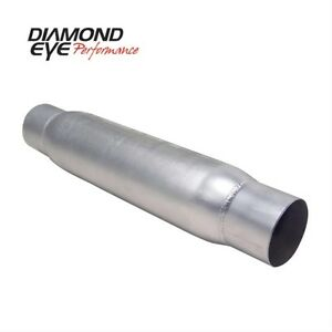 Diamond Eye 400405 4 Quiet Tone Resonator Single In out Aluminized With Ends
