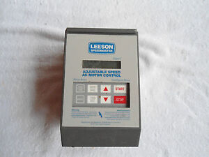 Leeson Adjustable Speed Ac Motor Control 174925 00