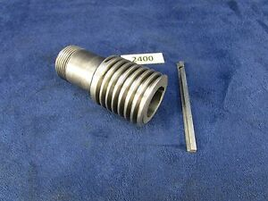South Bend 9a 10k Lathe Worm Gear W Key Collar Mpn As203nk1 2400