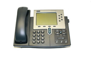 Five Refurbished Cisco Unified Ip 7960g Phones cp 7960 Telephones