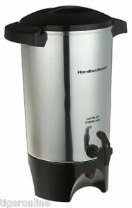 Coffee Dispenser Urn Big Silver Commercial Maker Office Restaurant Large Brewer