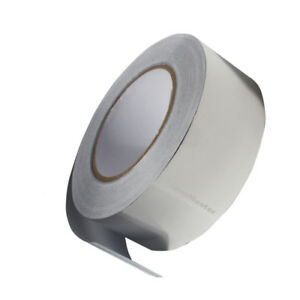 Aluminum Foil Adhesive Tape 2 X 55yds 50mm X 50m Silver Ship From Usa