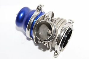 Blue Emusa 60mm V band Wastegate Fits Toyota Honda Acura Dodge Bmw