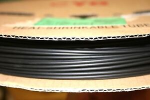 660 Ft 1 8 Heat Shrink Tubing 3 1 Ratio dual wall W adhesive Lining black