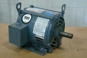 Ao Smith 3 Hp Electric Motor 230 460 Volt 1765 Rpm Fr 60hz 8 6 4 3 Amp S182t