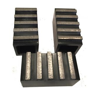 3 Pack Diamond Grinding Blocks For Edco Stow And Floor Grinders
