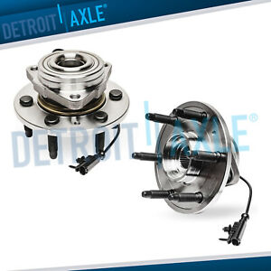 Both Front Wheel Bearing Chevy Tahoe Sierra 1500 Wheel Bearings 4x4 Hd Design