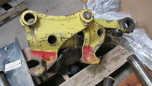 Yanmar Sv100 Quick Coupler Assembly Good Used