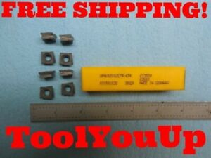 8pcs New Kennametal Sphx 1205 Zctr Gpk Ky3500 Insert Machine Shop Tooling Tools