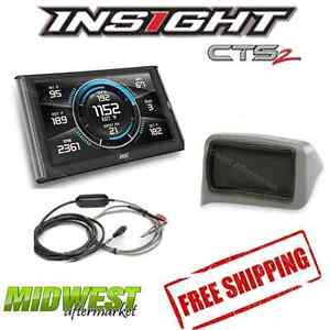 Edge Insight Cts2 With Egt Probe Dash Mount For 1999 2004 Ford Powerstroke