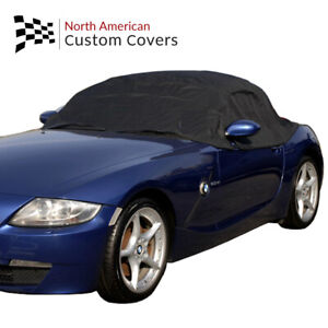 Rp094 Convertible Soft Top Roof Protector Half Cover For Bmw Z4 2002 To 2016