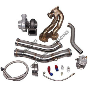 08cx Rx 7 Fc 13b Rotary Engine T70 Turbo Manifold Downpipe For Nissan Datsun 510