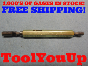 M6 X 1 6h Special Pitch Diameters Metric Go No Go Thread Plug Gage 5 390 5 537