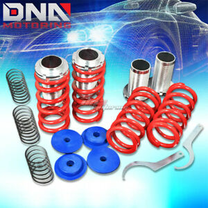 For 94 99 Toyota Celica T200 1 3 Scaled Suspension Black Coilover Red Springs