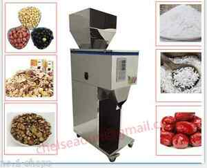 20 5000g Powder Particle Filling Machine For Tea seed grain weigh Filler