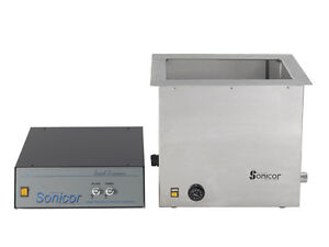 New Sonicor 5 Gallon Industrial Ultrasonic Cleaner With Heat