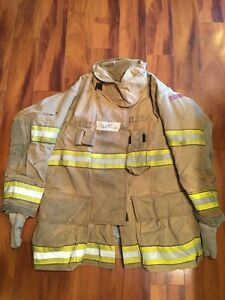 Firefighter Globe Turnout Bunker Coat 46x35 G Extreme Halloween Costume