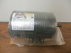 Lincoln 1 Hp Electric Ac Motor 3450 Rpm 56 80 Frame 230 460 V New