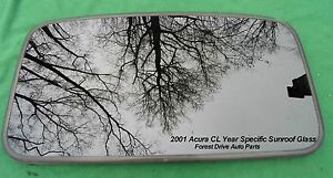 2001 Acura Cl Year Specific Sunroof Glass Oem No Accident Free Shipping