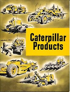 Rare Collectible Caterpillar Products Tractor Co form 12597 Do51 in Almost Mint