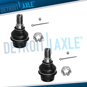 Pair 2 New Front Lower Ball Joints For Dodge Sprinter 2500 3500 Freightliner