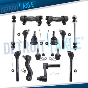 14pc Pitman Idler Arm Inner Outer Tierods For 1994 1995 1999 Ram 2500 3500 2wd