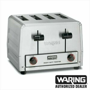 Waring Wct805 Commercial Heavy Duty 4 Slot Toaster 240v 1 Year Warranty Blow Out