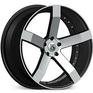 20 Inch Red Sport Rs100 Wheel Rims Tires Fit Toyota Honda Ford Chevy