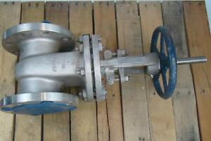 Powell Class 150 4 Stainless Gate Valve Cf8m Psi 275